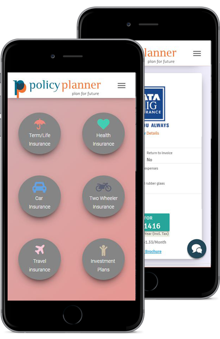 Policy Planner Mobile View